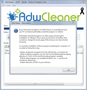 How to Get of Rid Adware
