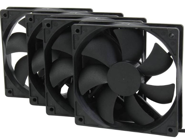 gaming pc build case fans