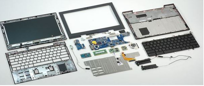 disassembly of laptop